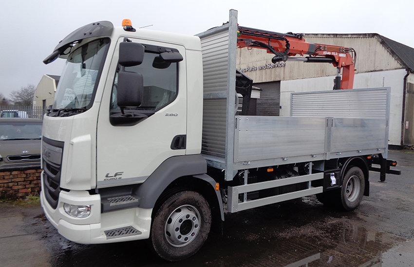 Dropside vehicles
