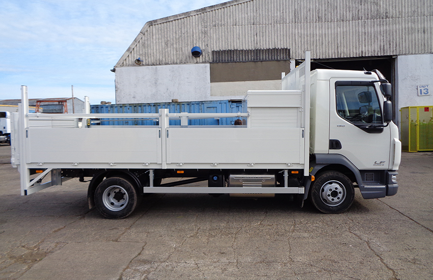 Dropside vehicle bodybuilders